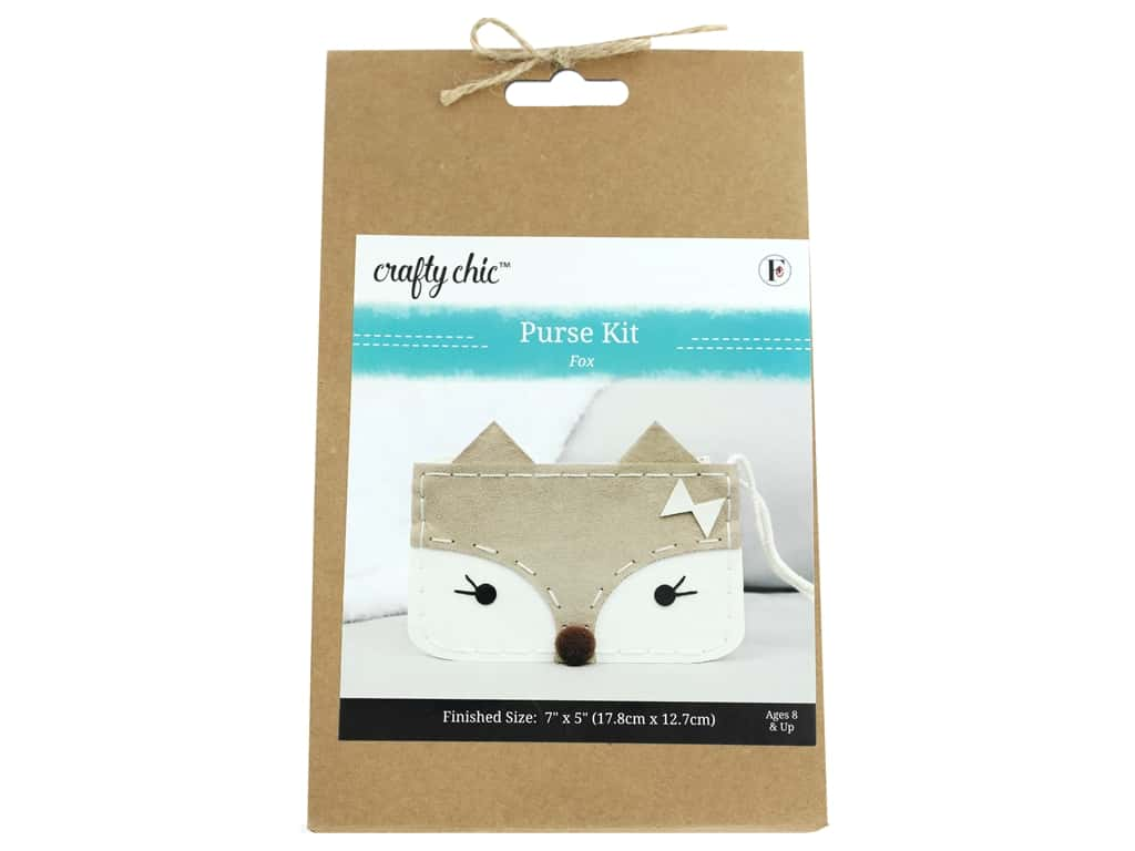 Crafty Chic Purse Kit - Fox