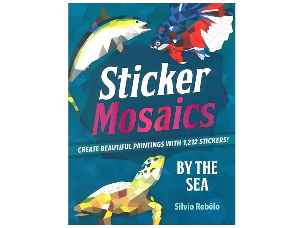 Castle Point Sticker Mosaics By The Sea Book