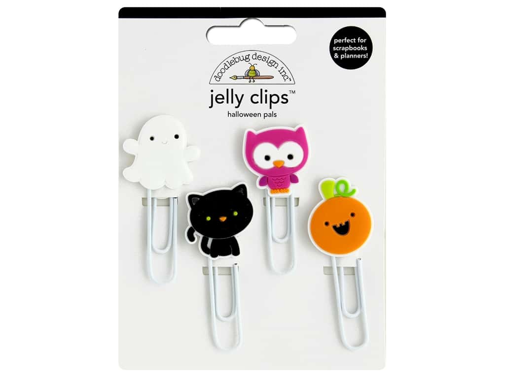 Doodlebug Collection Halloween Jelly Clips Halloween Pals