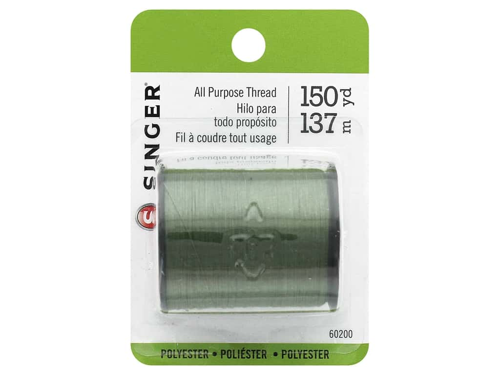 Singer Thread All Purpose Polyester 150yd Olive