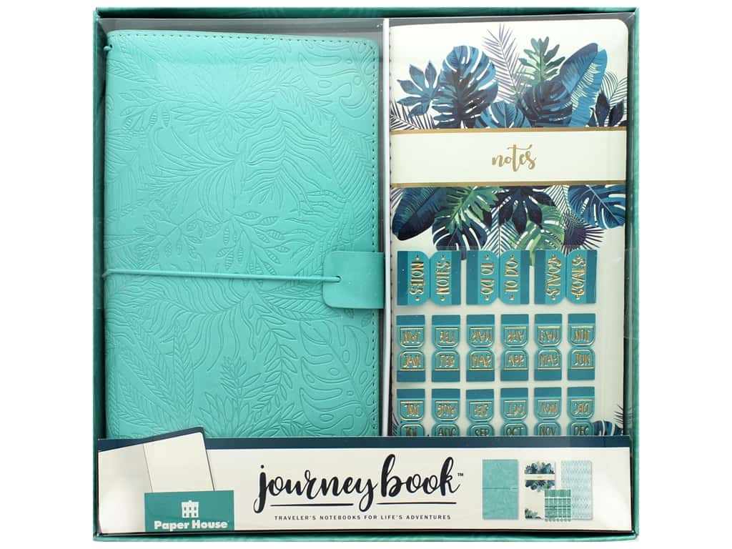 Paper House Collection Life Organized Journey Book Set Traveler Tropical
