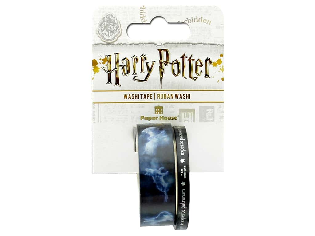 Paper House Collection Life Organized Washi Tape Warner Bros Harry Potter Patronus