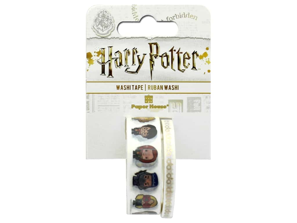 Paper House Collection Life Organized Washi Tape Warner Bros Harry Potter Chibi