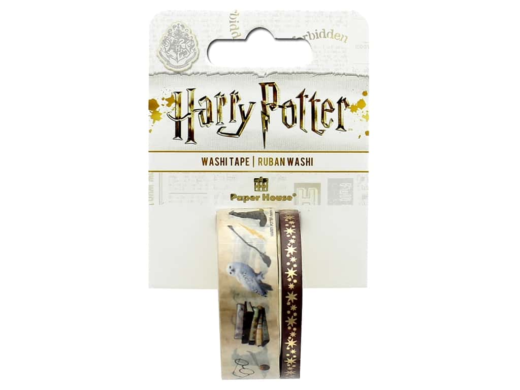 Paper House Collection Life Organized Washi Tape Warner Bros Harry Potter Icons