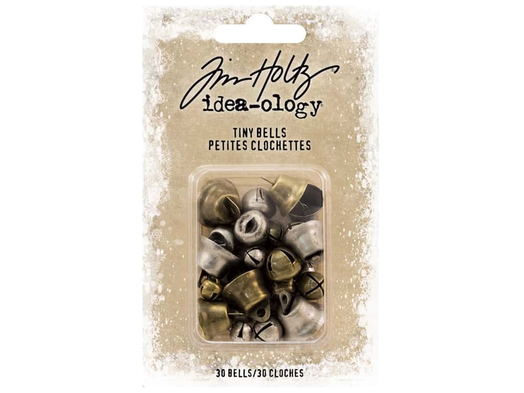 Tim Holtz Idea-ology Christmas Tiny Bells
