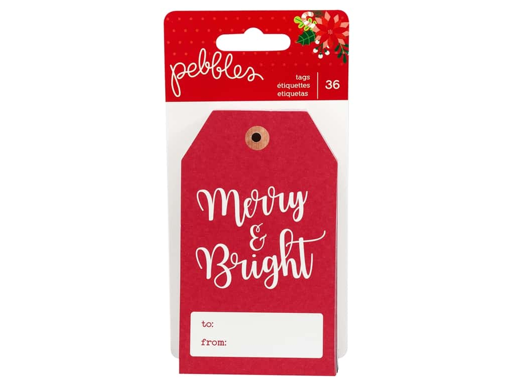 Pebbles Collection Cozy & Bright Tags