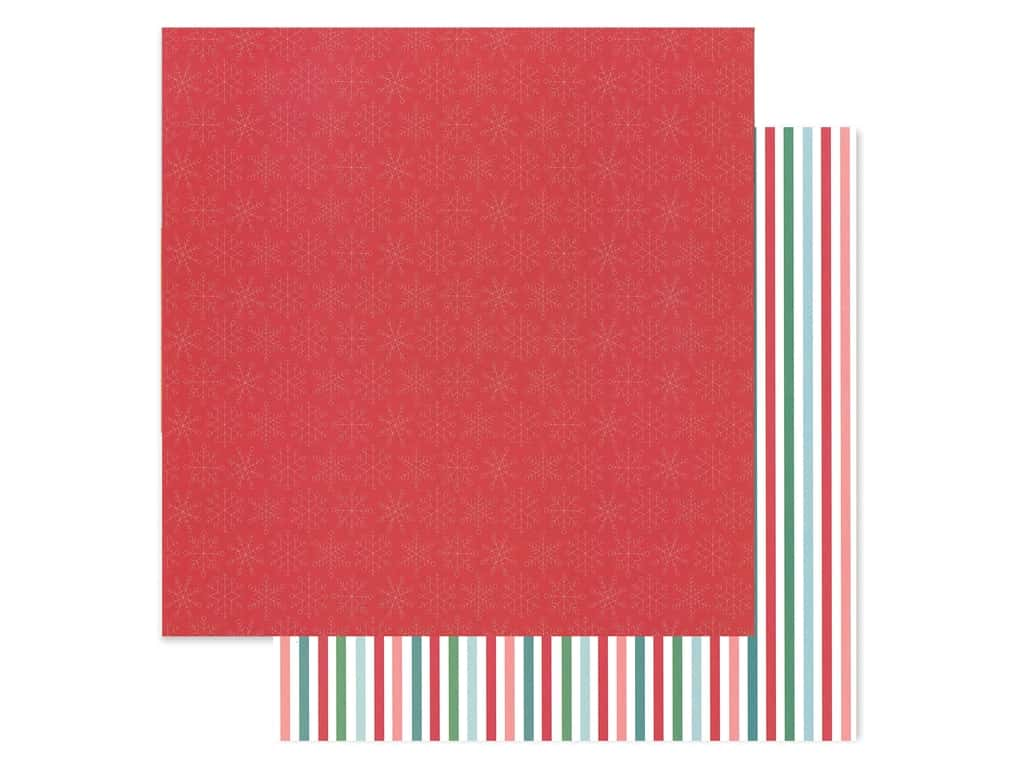Pebbles Collection Cozy & Bright Paper 12 in. x 12 in. Merry & Bright (25 pieces)
