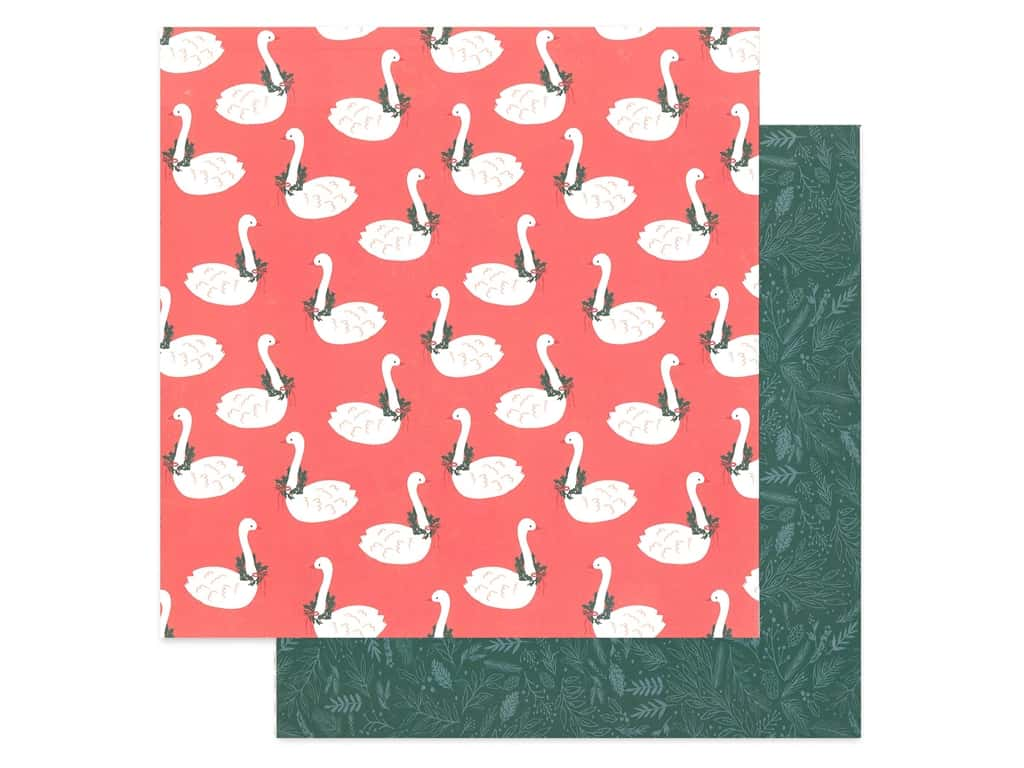 Crate Paper Collection Merry Days Paper 12 in. x 12 in. Twelve Days (25 pieces)