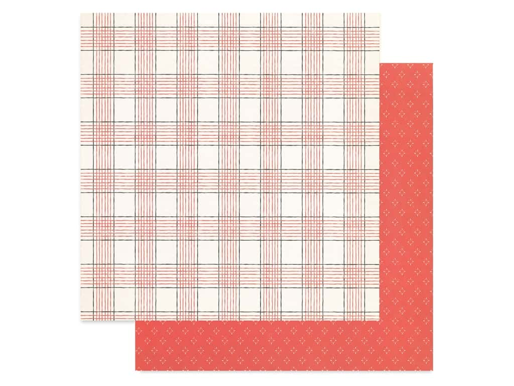 Crate Paper Collection Merry Days Paper 12 in. x 12 in. Cheer (25 pieces)