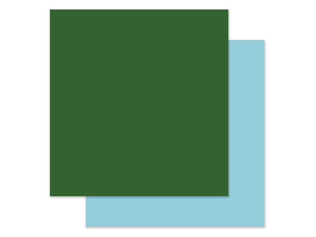Echo Park Collection Adventure Awaits Paper 12 in. x 12 in. Green/Light Blue (25 pieces)