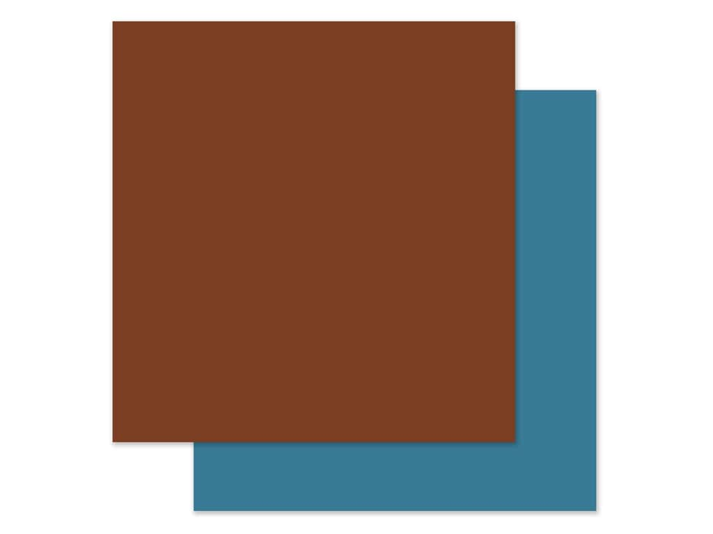 Echo Park Collection Adventure Awaits Paper 12 in. x 12 in. Brown/Blue (25 pieces)