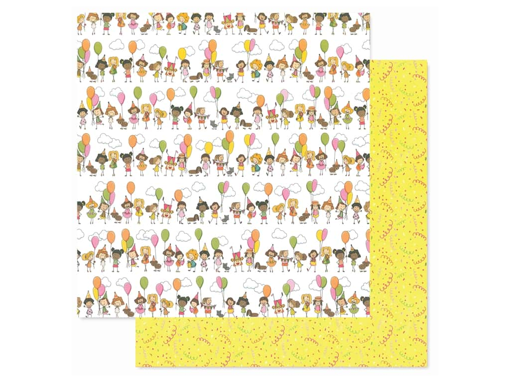 Photoplay Collection Birthday Wishes Girl Paper 12 in. x 12 in. Birthday Girl (25 pieces)