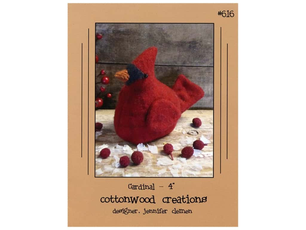 Cottonwood Creations Cardinal Pattern