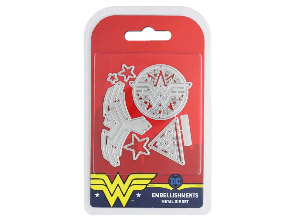 Character World Wonder Woman Die Embellishments