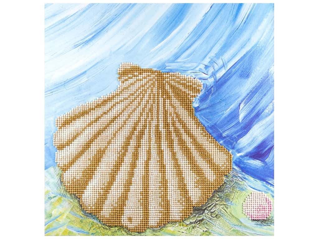 Diamond Art Kit 12 x 12 in. Shell