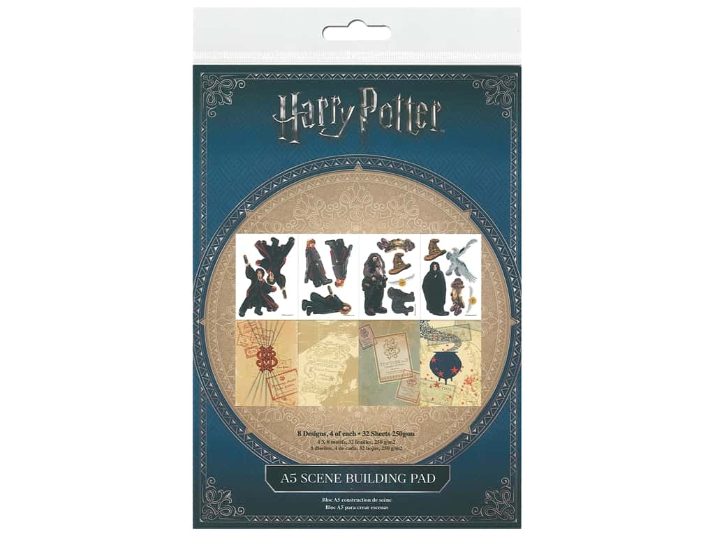 Character World Paper Pad Warner Bros Harry Potter
