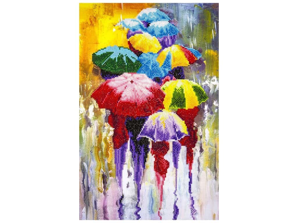 Diamond Art Kit 14 x 16 in. Rainy Day