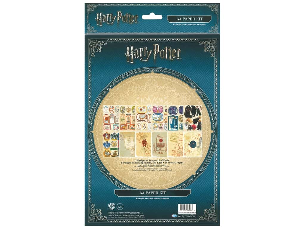 Character World Paper Kit 24 pc Warner Bros Harry Potter