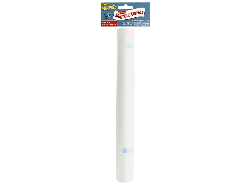 Darice Magnet Roll Adhesive Back 12 in. x 24 in.