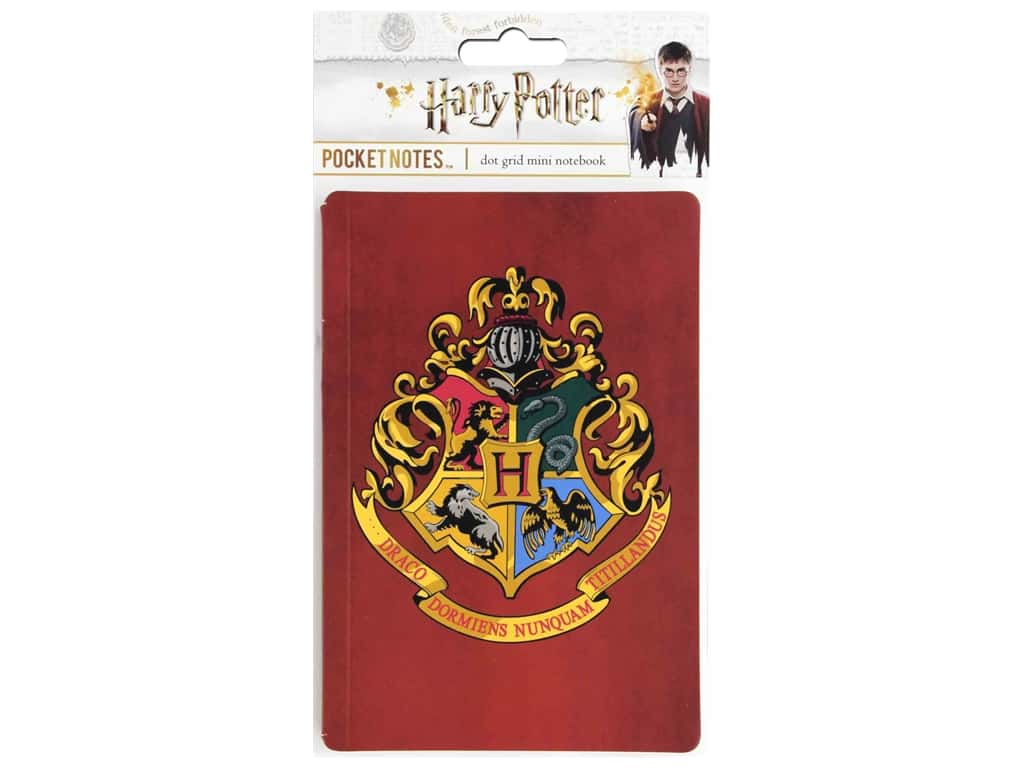 Paper House Collection Life Organized Pocket Notes Warner Bros Harry Potter Hogwarts Crest