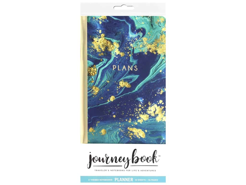 Paper House Collection Life Organized Journey Traveler Book Insert Marble Blue