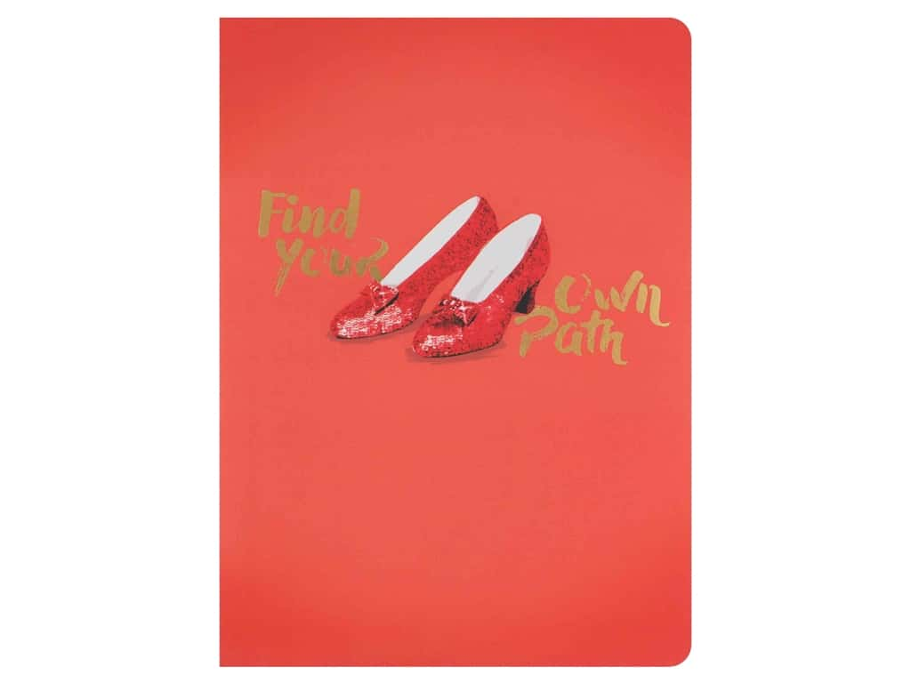 Paper House Collection Life Organized Journal Soft Cover Oz Ruby Slippers