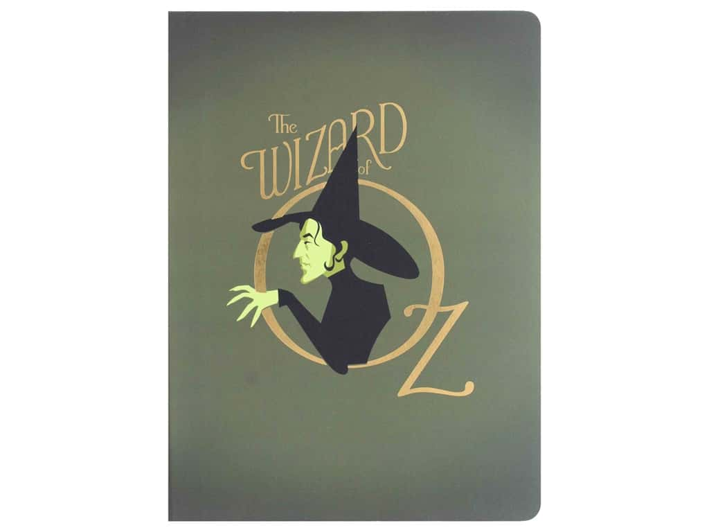 Paper House Collection Life Organized Journal Soft Cover Oz Wicked Witch
