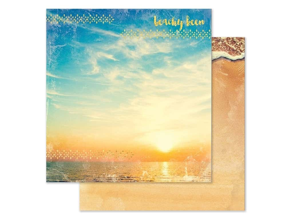 Paper House Paper 12 in. x 12 in. Beachy Keen (15 pieces)