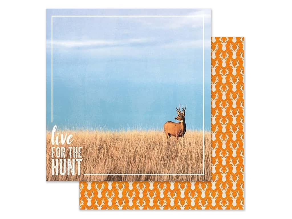 Paper House Paper 12 in. x 12 in. Live For The Hunt (15 pieces)