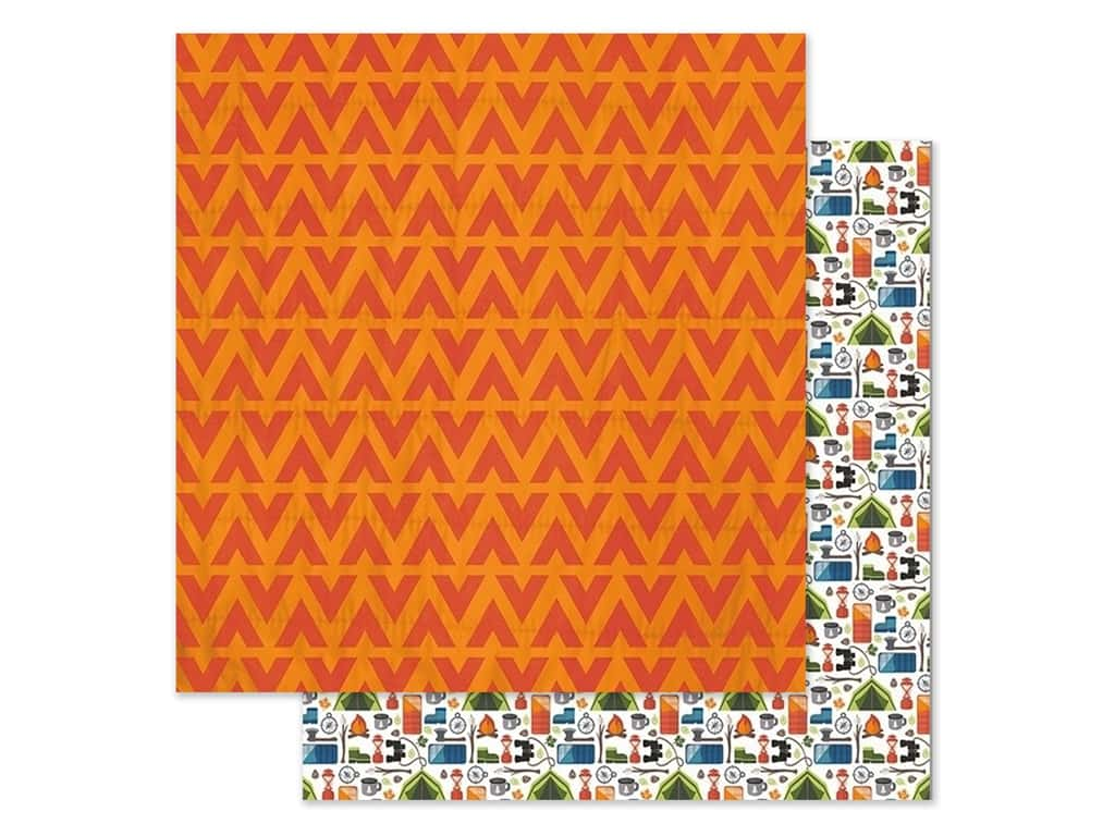 Paper House Paper 12 in. x 12 in. Happy Camper (15 pieces)