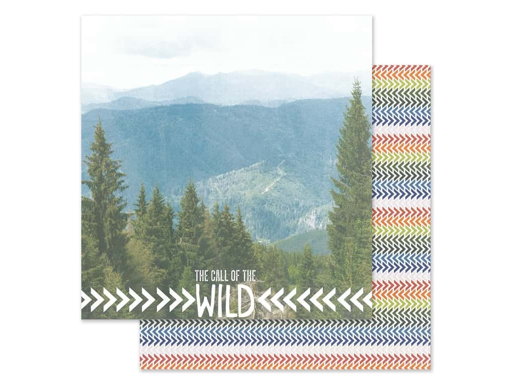 Paper House Paper 12 in. x 12 in. Call Of The Wild (15 pieces)