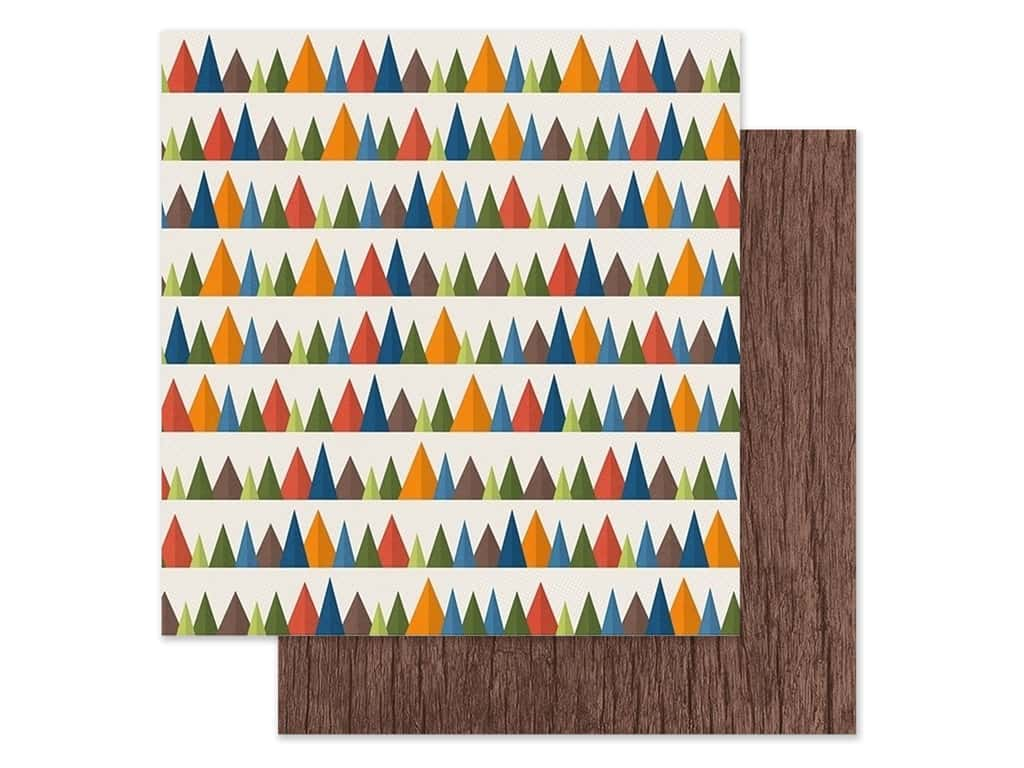 Paper House Paper 12 in. x 12 in. Into The Woods (15 pieces)
