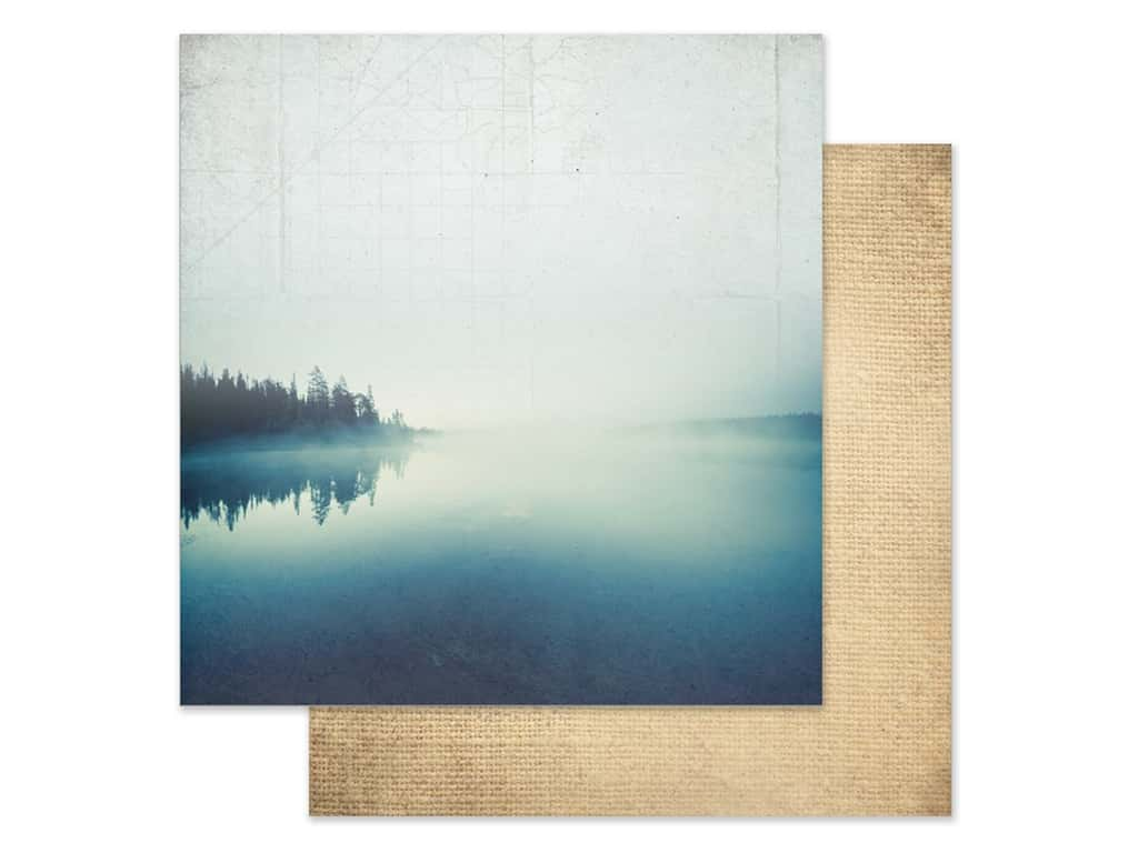 Paper House Paper 12 in. x 12 in. Morning At The Lake (15 pieces)