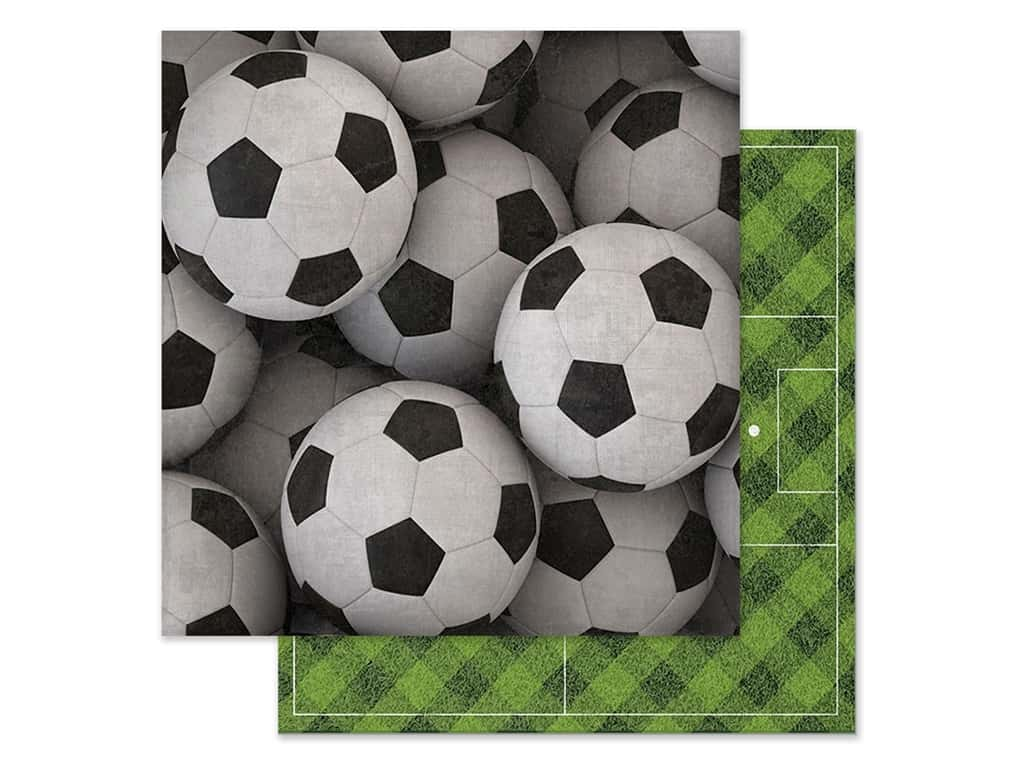 Paper House Paper 12 in. x 12 in. Soccer Balls (15 pieces)