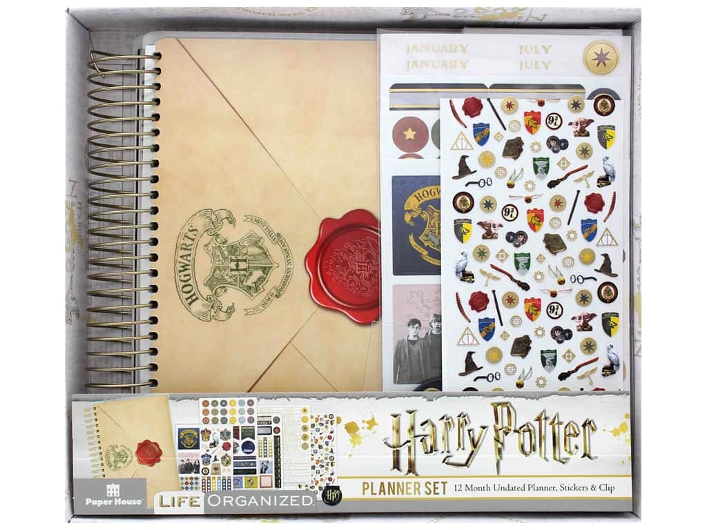 Paper House Collection Life Organized Mini Planner Set Warner Bros Harry Potter