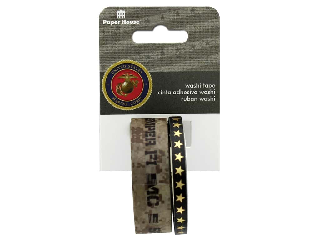 Paper House Washi Tape Us Marines