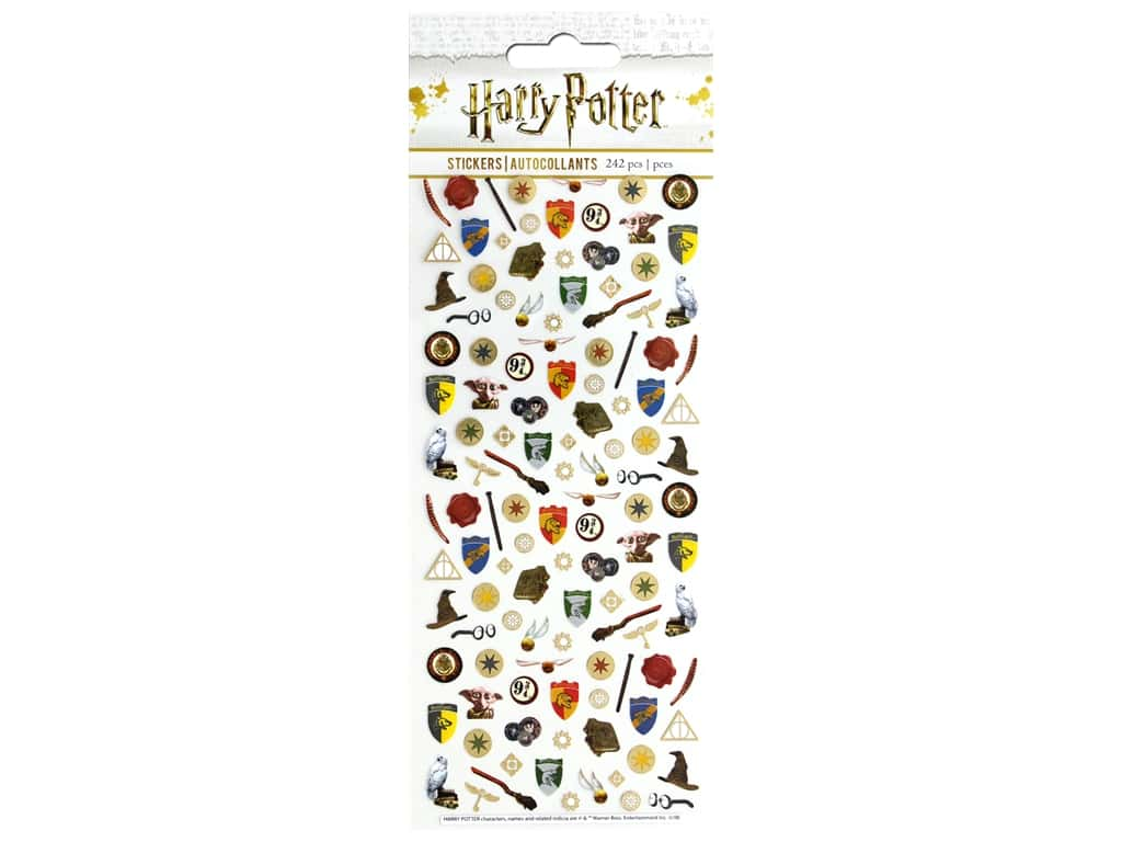 Paper House Collection Life Organized Sticker Micro Warner Bros Harry Potter