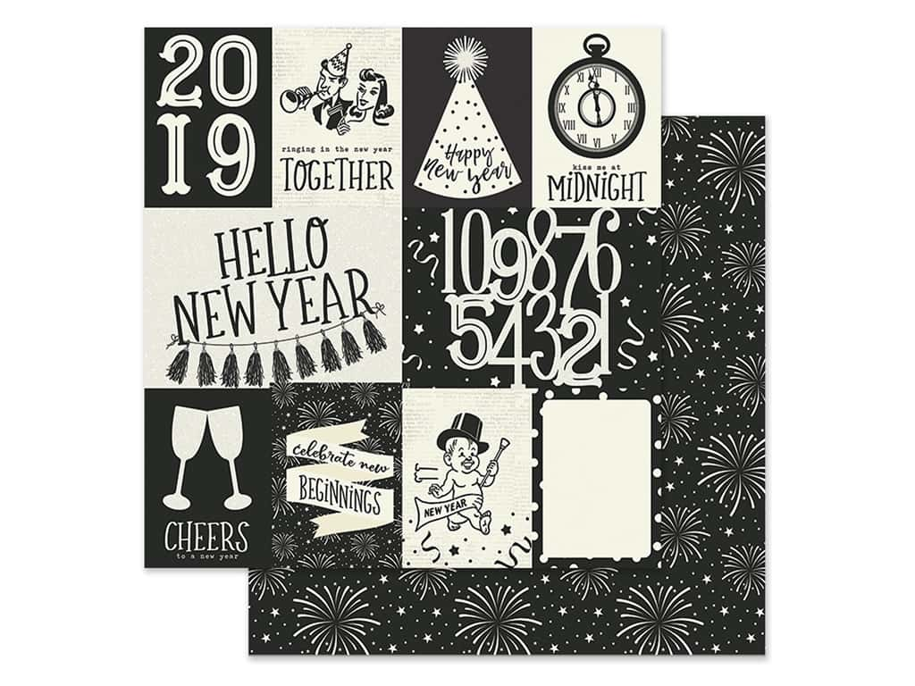 Simple Stories Collection 2019 Paper 12 in. x 12 in. Elements 3 in. x 4 in. & 4 in. x 6 in. (25 pieces)