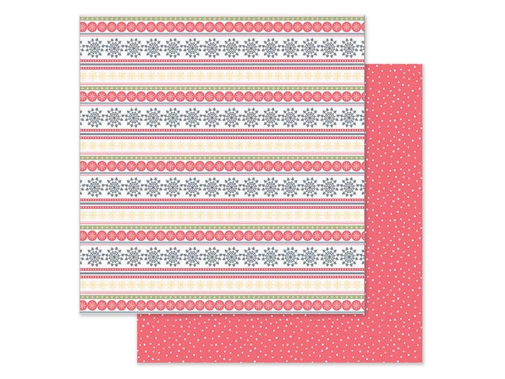 Simple Stories Collection Freezin Season Paper 12 in. x 12 in. Sweater Weather (25 pieces)