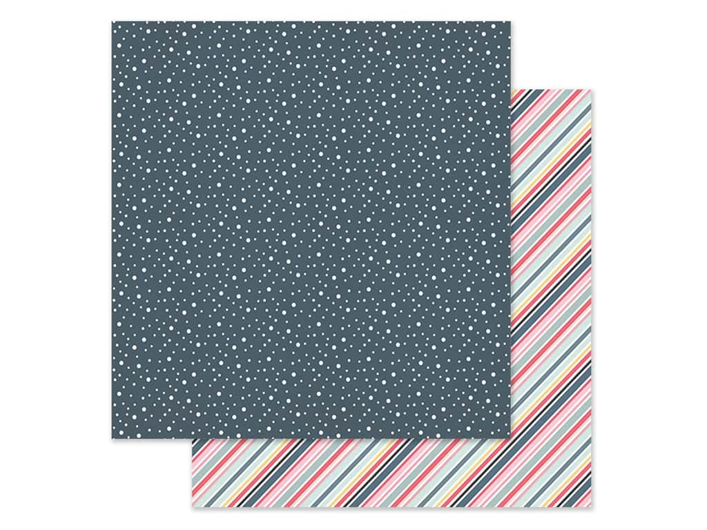 Simple Stories Collection Freezin Season Paper 12 in. x 12 in. Shiverin' (25 pieces)