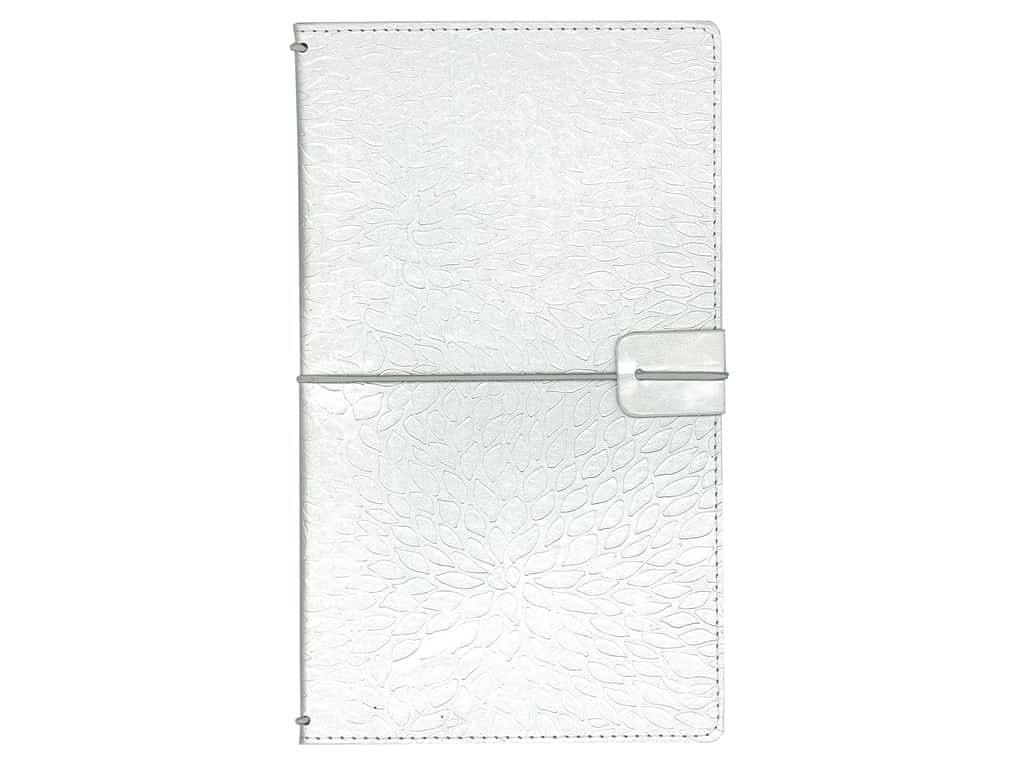 Paper House Collection Life Organized Journey Book Cover Silver