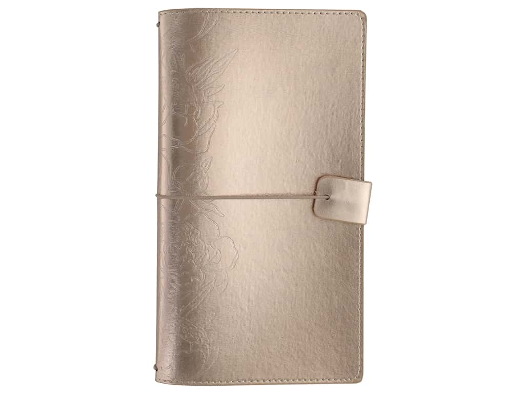 Paper House Collection Life Organized Journey Book Cover Rose Gold