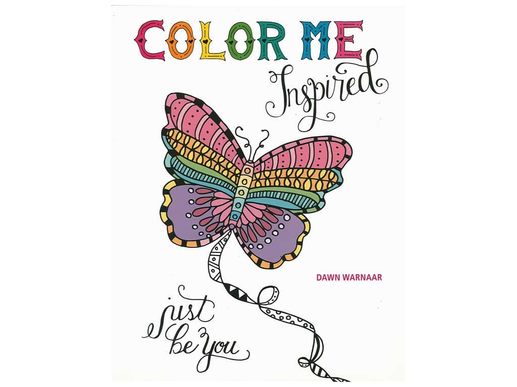 Color Me Inspired Coloring Book