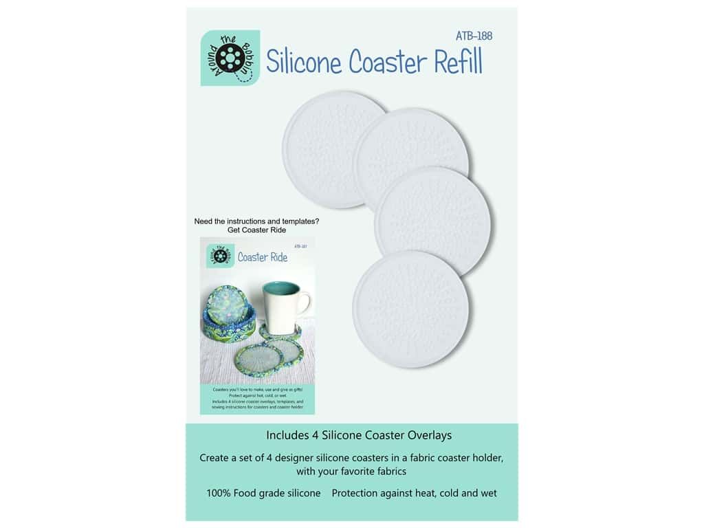Around The Bobbin Silicone Coaster Refill