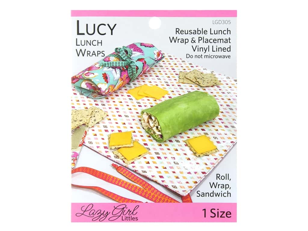 Lazy Girl Designs Lucy Lunch Wraps Pattern
