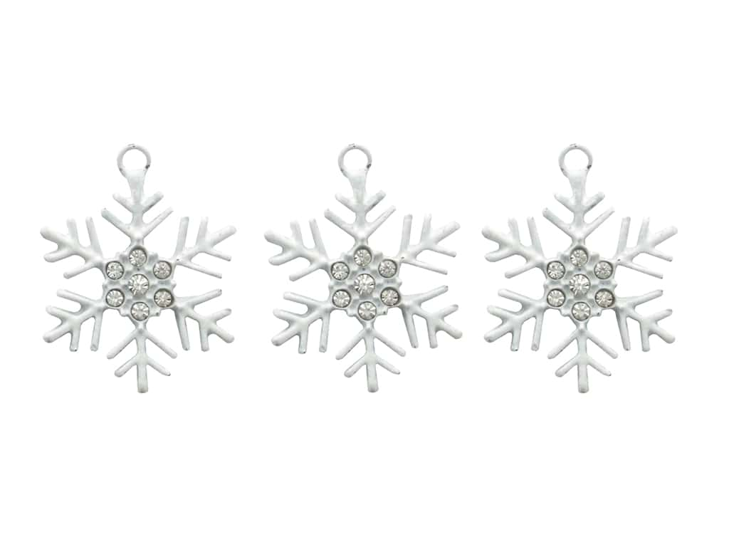Jesse James Embellishments Charm Snow Flake