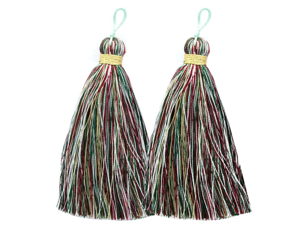 Jesse James Embellishments Tassels Large Christmas