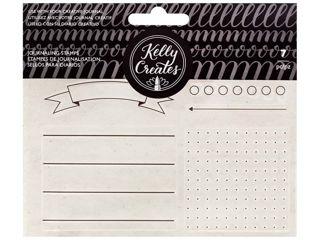 American Crafts Collection Kelly Creates Stamp Journaling