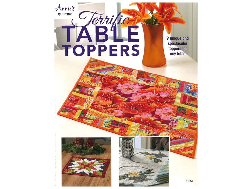 Annie's Terrific Table Toppers Book