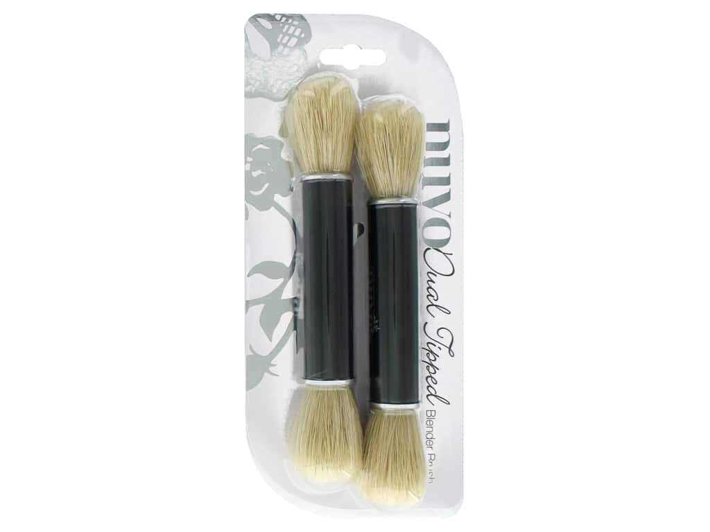 Nuvo Dual Ended Blender Brush 2 pc.
